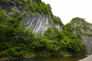 岩手 猊鼻渓の写真素材 [FYI04922973]