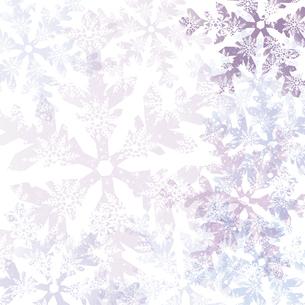 雪の結晶の背景のイラスト素材 [FYI04923565]
