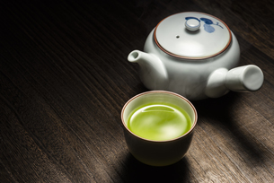 緑茶の写真素材 [FYI04923837]