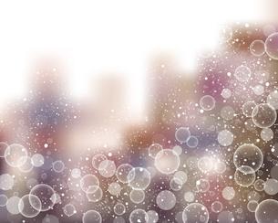輝きとぼかしのグラデーション背景のイラスト素材 [FYI04923986]