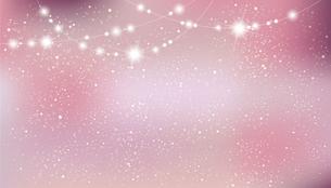 輝きとぼかしのピンクグラデーション背景のイラスト素材 [FYI04924440]