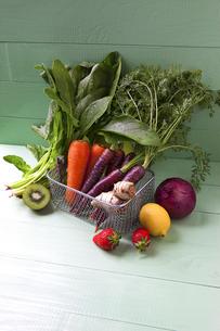 様々な野菜とフルーツの写真素材 [FYI04924662]