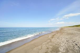 晴れた日の青い海の写真素材 [FYI04924753]