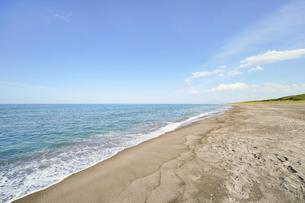 晴れた日の青い海の写真素材 [FYI04924754]