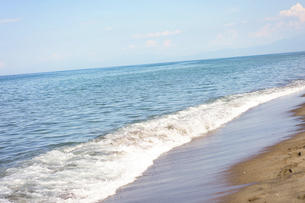 晴れた日の青い海の写真素材 [FYI04924755]