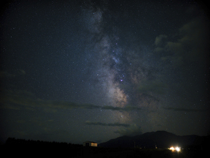 天の川の写真素材 [FYI04924870]