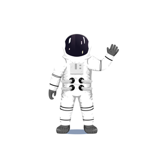 Astronautのイラスト素材 [FYI04924962]