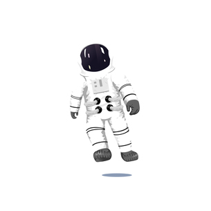 Astronautのイラスト素材 [FYI04924963]