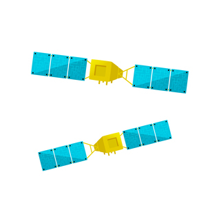 Satellitesのイラスト素材 [FYI04924966]