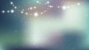 輝きとぼかしのグラデーション背景のイラスト素材 [FYI04925204]