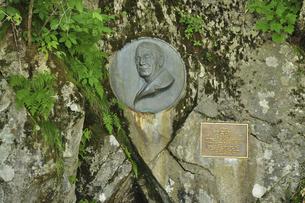 上高地 ウェストンの碑碑の写真素材 [FYI04925288]