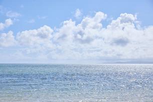 カイジ浜から眺める海の写真素材 [FYI04925639]