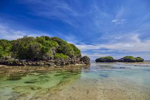 西表島の星砂の浜の写真素材 [FYI04925660]