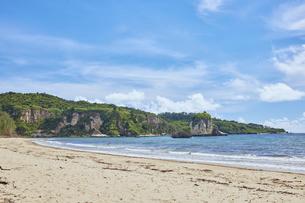 西表島の月ヶ浜の写真素材 [FYI04925677]