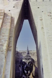スコタイ遺跡の仏像の写真素材 [FYI04925705]