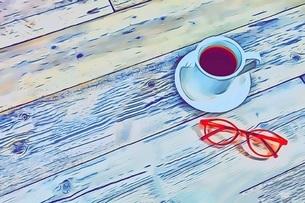 コーヒータイムのイラスト素材 [FYI04925988]