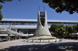 福島駅西口風景の写真素材 [FYI04926146]