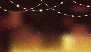 輝きとぼかしのグラデーション背景のイラスト素材 [FYI04926159]