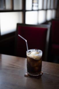 レトロ喫茶 - コーラフロートの写真素材 [FYI04926167]