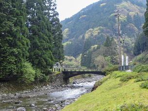 神子畑鋳鉄橋「播但貫く、銀の馬車道 鉱石の道」として日本遺産認定の写真素材 [FYI04927009]