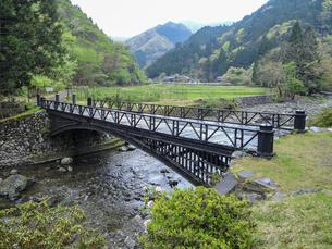 神子畑鋳鉄橋「播但貫く、銀の馬車道 鉱石の道」として日本遺産認定の写真素材 [FYI04927010]