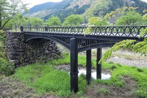 羽渕鋳鉄橋 「播但貫く、銀の馬車道 鉱石の道」として日本遺産に認定された鋳鉄橋の写真素材 [FYI04927014]