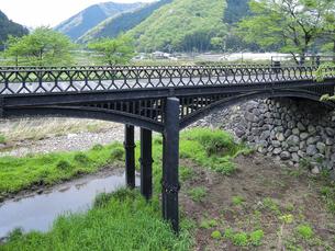羽渕鋳鉄橋 「播但貫く、銀の馬車道 鉱石の道」として日本遺産に認定された鋳鉄橋の写真素材 [FYI04927015]