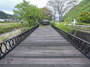 羽渕鋳鉄橋 「播但貫く、銀の馬車道 鉱石の道」として日本遺産に認定された鋳鉄橋の写真素材 [FYI04927017]