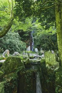 夏の三滝寺,二之瀧 梵音之瀧(広島県広島市)の写真素材 [FYI04927117]