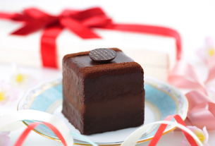 チョコレートケーキの写真素材 [FYI04927982]