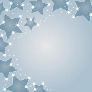 星型シルエットの背景イラストのイラスト素材 [FYI04928694]
