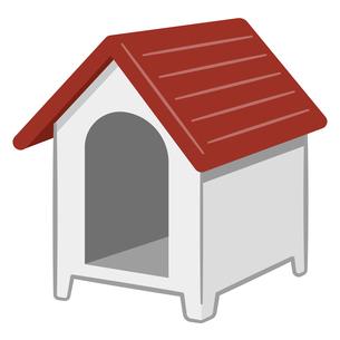 犬小屋のイラストレーションのイラスト素材 [FYI04928886]