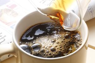 ホットコーヒーの写真素材 [FYI04929365]