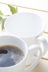 ホットコーヒーの写真素材 [FYI04929366]