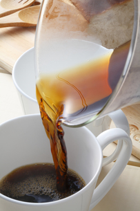 ホットコーヒーの写真素材 [FYI04929367]