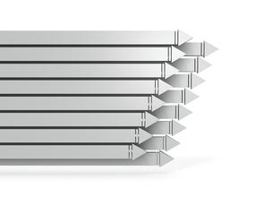 進行中のプロジェクトを表すアブストラクトのイラスト素材 [FYI04929553]