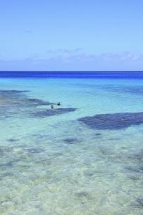 沖縄・池間島 フナクスビーチと海の写真素材 [FYI04929598]