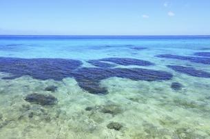 沖縄・池間島 フナクスビーチと海の写真素材 [FYI04929602]