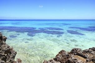 沖縄・池間島 フナクスビーチと海の写真素材 [FYI04929605]