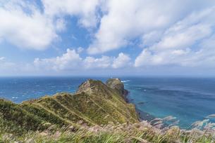 積丹半島・神威岬の写真素材 [FYI04930215]