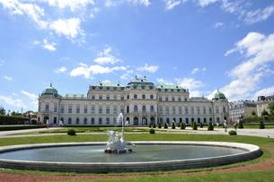 ウィーン ベルヴェデーレ宮殿の写真素材 [FYI04930787]