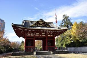 旧台徳院霊廟惣門の写真素材 [FYI04930820]