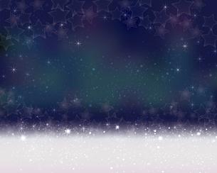 星が散らばるぼかしグラデーション背景のイラスト素材 [FYI04933189]