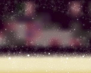 星が散らばるぼかしグラデーション背景のイラスト素材 [FYI04933338]