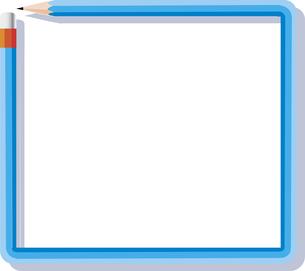 鉛筆のフレームのテキストスペースのイラスト素材 [FYI04935795]