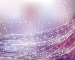 星とぼかしグラデーションの背景のイラスト素材 [FYI04937129]
