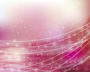 星とぼかしグラデーションの背景のイラスト素材 [FYI04937250]