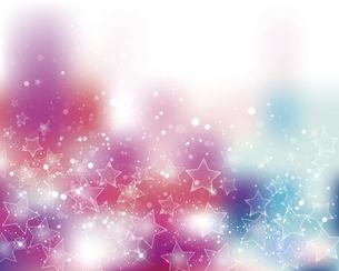 星とぼかしグラデーションの背景のイラスト素材 [FYI04937490]