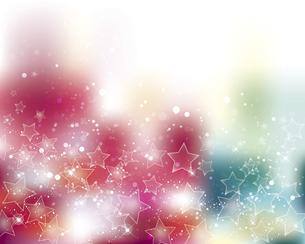 星とぼかしグラデーションの背景のイラスト素材 [FYI04937683]