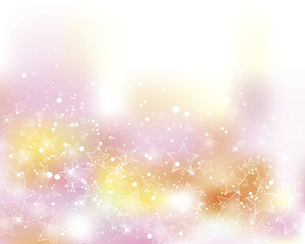 星とぼかしグラデーションの背景のイラスト素材 [FYI04937867]